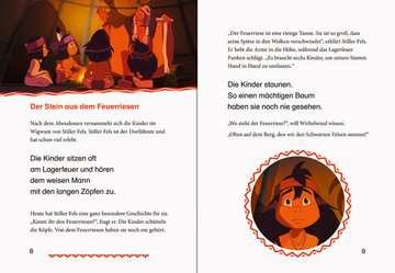 49111 Erstlesebücher Leselernstars Wir lesen gemeinsam Geschichten: Yakari Der Feuerriese von Ravensburger 6