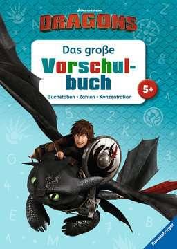 49127 Lernbücher und Rätselbücher Dreamworks Dragons: Das große Vorschulbuch von Ravensburger 1