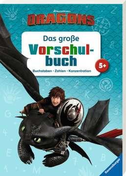 49127 Lernbücher und Rätselbücher Dreamworks Dragons: Das große Vorschulbuch von Ravensburger 2