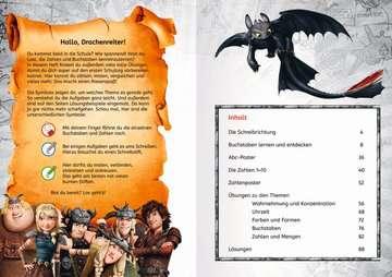 49127 Lernbücher und Rätselbücher Dreamworks Dragons: Das große Vorschulbuch von Ravensburger 4
