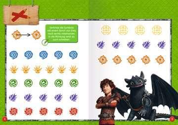 49127 Lernbücher und Rätselbücher Dreamworks Dragons: Das große Vorschulbuch von Ravensburger 5