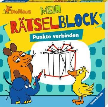 Die Maus Mein Rätselblock Punkte verbinden Kinderbücher;Malbücher und Bastelbücher - Bild 2 - Ravensburger