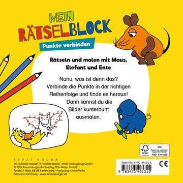 Die Maus Mein Rätselblock Punkte verbinden Kinderbücher;Malbücher und Bastelbücher - Bild 3 - Ravensburger