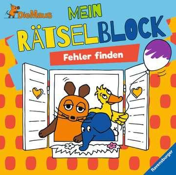 49132 Lernbücher und Rätselbücher Die Maus Mein Rätselblock Fehler finden von Ravensburger 1