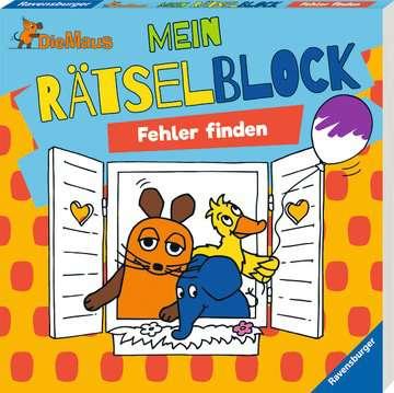 49132 Lernbücher und Rätselbücher Die Maus Mein Rätselblock Fehler finden von Ravensburger 2
