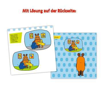 49132 Lernbücher und Rätselbücher Die Maus Mein Rätselblock Fehler finden von Ravensburger 7