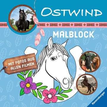 49133 Malbücher und Bastelbücher Ostwind: Malblock von Ravensburger 1