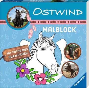 49133 Malbücher und Bastelbücher Ostwind: Malblock von Ravensburger 2