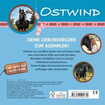 49133 Malbücher und Bastelbücher Ostwind: Malblock von Ravensburger 3
