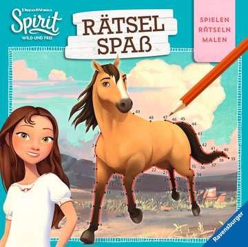 49138 Malbücher und Bastelbücher Dreamworks Spirit Wild und Frei: Rätselspaß von Ravensburger 1