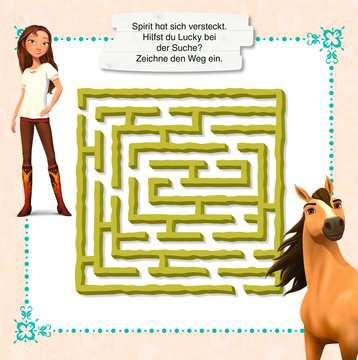49138 Malbücher und Bastelbücher Dreamworks Spirit Wild und Frei: Rätselspaß von Ravensburger 4