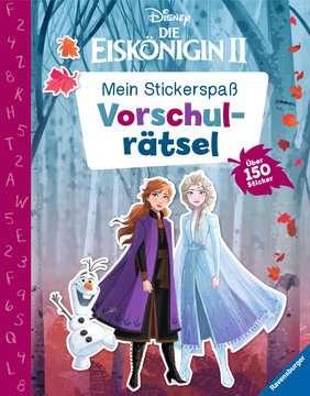 49144 Malbücher und Bastelbücher Mein Stickerspaß Disney Die Eiskönigin 2: Vorschulrätsel von Ravensburger 1