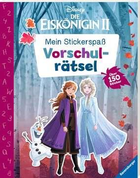 49144 Malbücher und Bastelbücher Mein Stickerspaß Disney Die Eiskönigin 2: Vorschulrätsel von Ravensburger 2