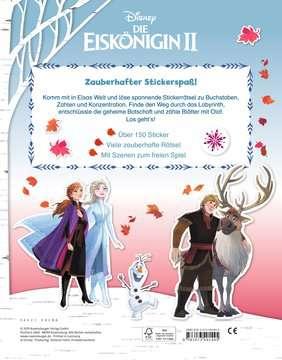 49144 Malbücher und Bastelbücher Mein Stickerspaß Disney Die Eiskönigin 2: Vorschulrätsel von Ravensburger 3