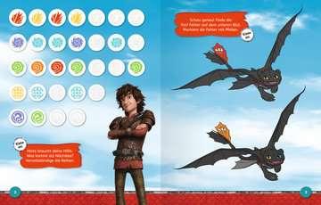 49149 Malbücher und Bastelbücher Mein Stickerspaß Dreamworks Dragons: Vorschulrätsel von Ravensburger 4