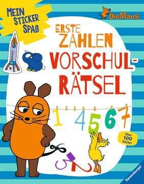 49151 Malbücher und Bastelbücher Mein Sticker Spaß Die Maus: Erste Zahlen Vorschulrätsel von Ravensburger 1