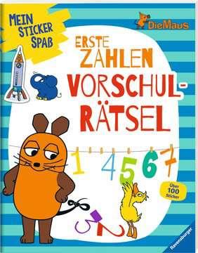 49151 Malbücher und Bastelbücher Mein Sticker Spaß Die Maus: Erste Zahlen Vorschulrätsel von Ravensburger 2