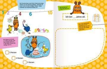 49151 Malbücher und Bastelbücher Mein Sticker Spaß Die Maus: Erste Zahlen Vorschulrätsel von Ravensburger 3
