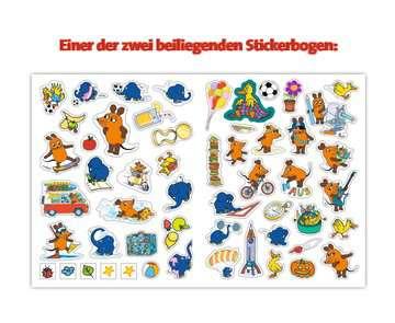 49151 Malbücher und Bastelbücher Mein Sticker Spaß Die Maus: Erste Zahlen Vorschulrätsel von Ravensburger 5