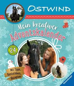 49154 Malbücher und Bastelbücher Ostwind: Mein kreativer Adventskalender von Ravensburger 1