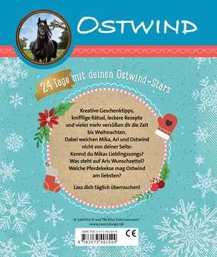 49154 Malbücher und Bastelbücher Ostwind: Mein kreativer Adventskalender von Ravensburger 3
