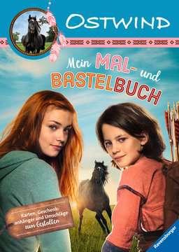49155 Malbücher und Bastelbücher Ostwind: Mein Mal- und Bastelbuch von Ravensburger 1