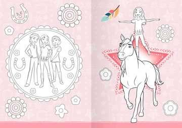 dreamworks spirit wild und frei: mein großes malbuch   malbücher und bastelbücher   kinderbücher