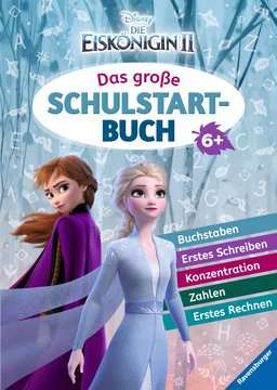 49161 Lernbücher und Rätselbücher Disney Die Eiskönigin 2: Das große Schulstartbuch von Ravensburger 1