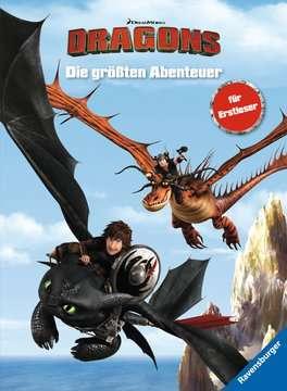 49164 Lernbücher Dreamworks Dragons: Die größten Abenteuer für Erstleser von Ravensburger 1