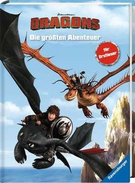 49164 Lernbücher Dreamworks Dragons: Die größten Abenteuer für Erstleser von Ravensburger 2