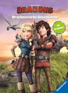 49165 Lernbücher Dreamworks Dragons: Drachenstarke Geschichten für Erstleser von Ravensburger 1