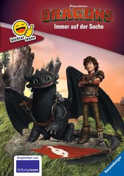 49166 Lernbücher Dreamworks Dragons: Immer auf der Suche von Ravensburger 1