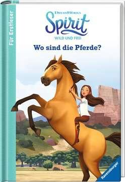 49171 Erstlesebücher Dreamworks Spirit Wild und Frei: Wo sind die Pferde? - Für Erstleser von Ravensburger 2