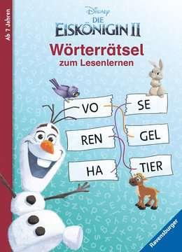 49177 Lernbücher und Rätselbücher Disney Die Eiskönigin 2: Wörterrätsel zum Lesenlernen von Ravensburger 1