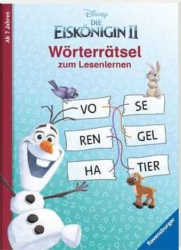 49177 Lernbücher und Rätselbücher Disney Die Eiskönigin 2: Wörterrätsel zum Lesenlernen von Ravensburger 2