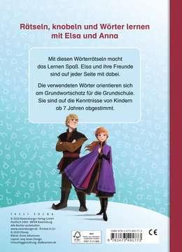 49177 Lernbücher und Rätselbücher Disney Die Eiskönigin 2: Wörterrätsel zum Lesenlernen von Ravensburger 3