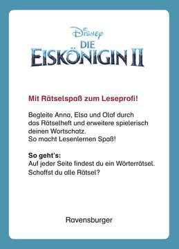 49177 Lernbücher und Rätselbücher Disney Die Eiskönigin 2: Wörterrätsel zum Lesenlernen von Ravensburger 4