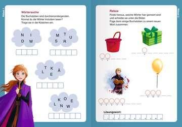 49177 Lernbücher und Rätselbücher Disney Die Eiskönigin 2: Wörterrätsel zum Lesenlernen von Ravensburger 5