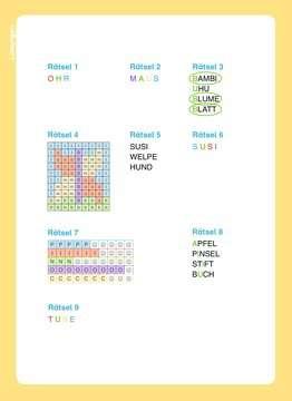 49178 Lernbücher und Rätselbücher Disney Classics: ABC-Rätsel zum Lesenlernen von Ravensburger 5
