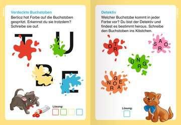 49178 Lernbücher und Rätselbücher Disney Classics: ABC-Rätsel zum Lesenlernen von Ravensburger 7