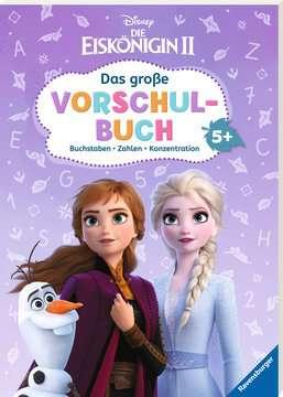 49180 Lernbücher und Rätselbücher Disney Die Eiskönigin 2: Das große Vorschulbuch von Ravensburger 2