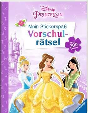 49183 Malbücher und Bastelbücher Mein Stickerspaß Disney Prinzessin: Vorschulrätsel von Ravensburger 2