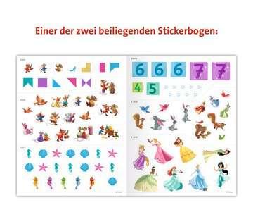 49183 Malbücher und Bastelbücher Mein Stickerspaß Disney Prinzessin: Vorschulrätsel von Ravensburger 6