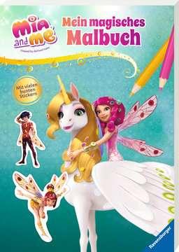 49192 Malbücher und Bastelbücher Mia and me: Mein magisches Malbuch von Ravensburger 2