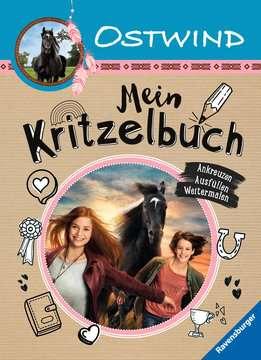 49195 Malbücher und Bastelbücher Ostwind: Mein Kritzelbuch von Ravensburger 1