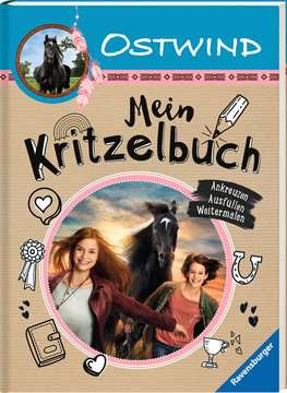 49195 Malbücher und Bastelbücher Ostwind: Mein Kritzelbuch von Ravensburger 2