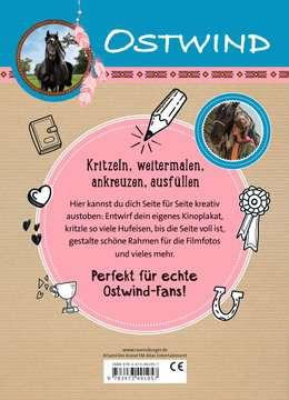 49195 Malbücher und Bastelbücher Ostwind: Mein Kritzelbuch von Ravensburger 3