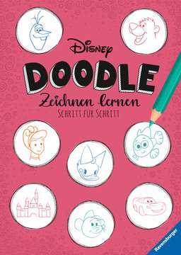 49629 Malbücher und Bastelbücher Disney Doodle - zeichnen lernen: Schritt für Schritt von Ravensburger 1
