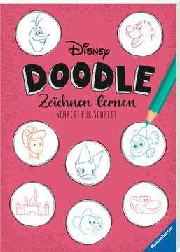 49629 Malbücher und Bastelbücher Disney Doodle - zeichnen lernen: Schritt für Schritt von Ravensburger 2