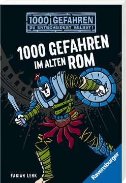 52498 Kinderliteratur 1000 Gefahren im alten Rom von Ravensburger 2